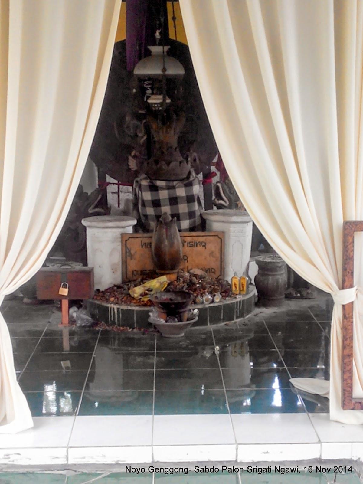 Ndekwur Srigati Isi Rumah Noyo Genggong Sabdo Palon Bekas Pemujaan