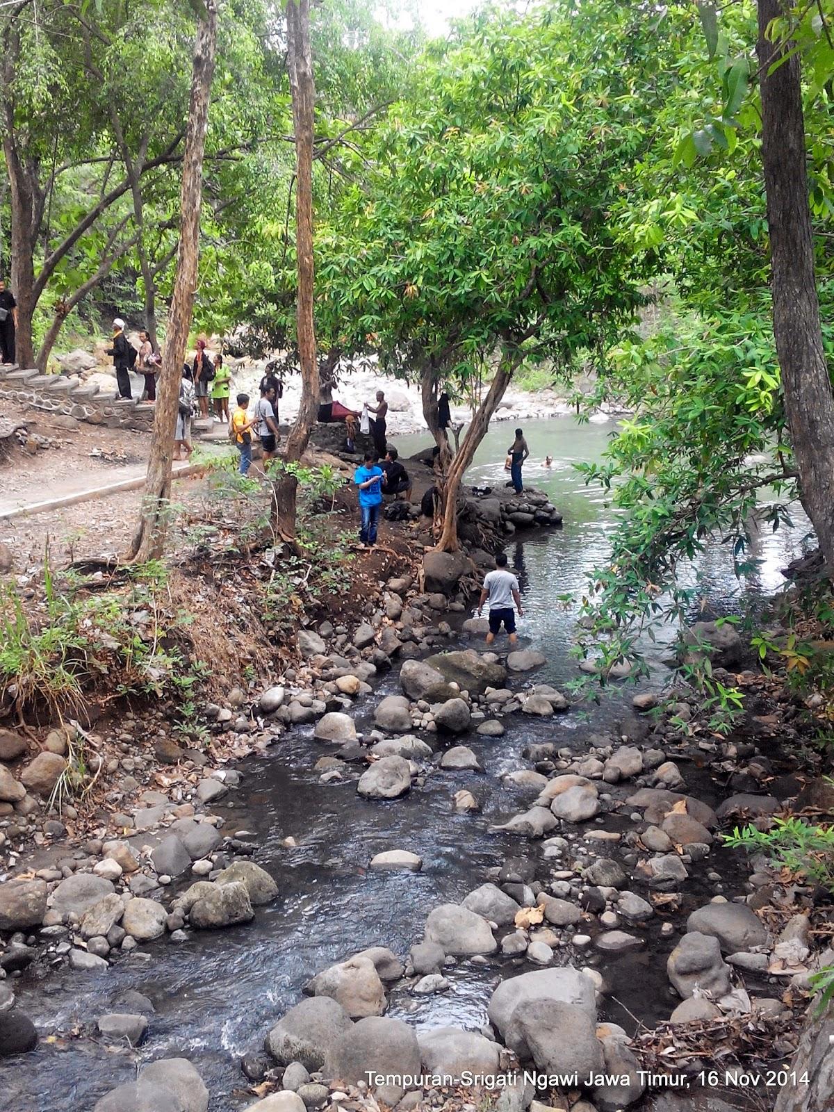 Ndekwur Srigati Tempuran Bertemunya 2 Sungai Gunung Lawu Hutan Ketonggo