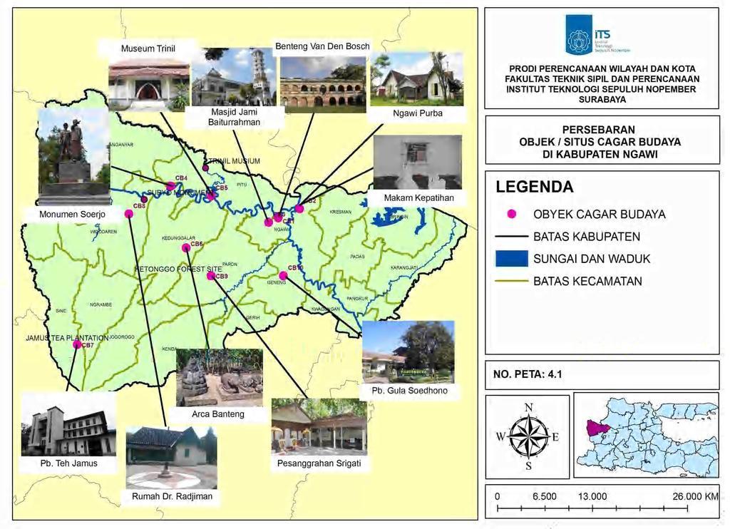 Penentuan Deliniasi Kawasan Cagar Budaya Kabupaten Ngawi Pdf Widodaren 11