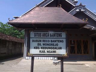 Arca Banteng Situs Peninggalan Majapahit Wonorejo Investigasi Ngawi Sejarah Tersebar