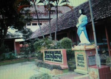 Gereja Paroki Santo Yosef Ngawi Dulu 1 Lembar Reco Banteng