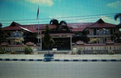 Kantor Bupati Ngawi Dulu 1 Lembar Reco Banteng Kab