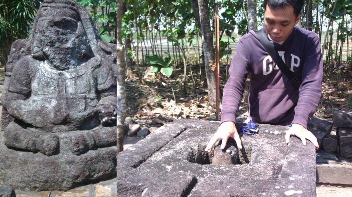 Menyedihkan Situs Arca Banteng Bersejarah Rusak Parah Terancam Punah Tribunnews