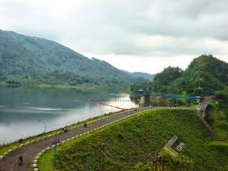Obyek Wisata Waduk Pondok Situs Rapi Kabupaten Ngawi Reco Banteng