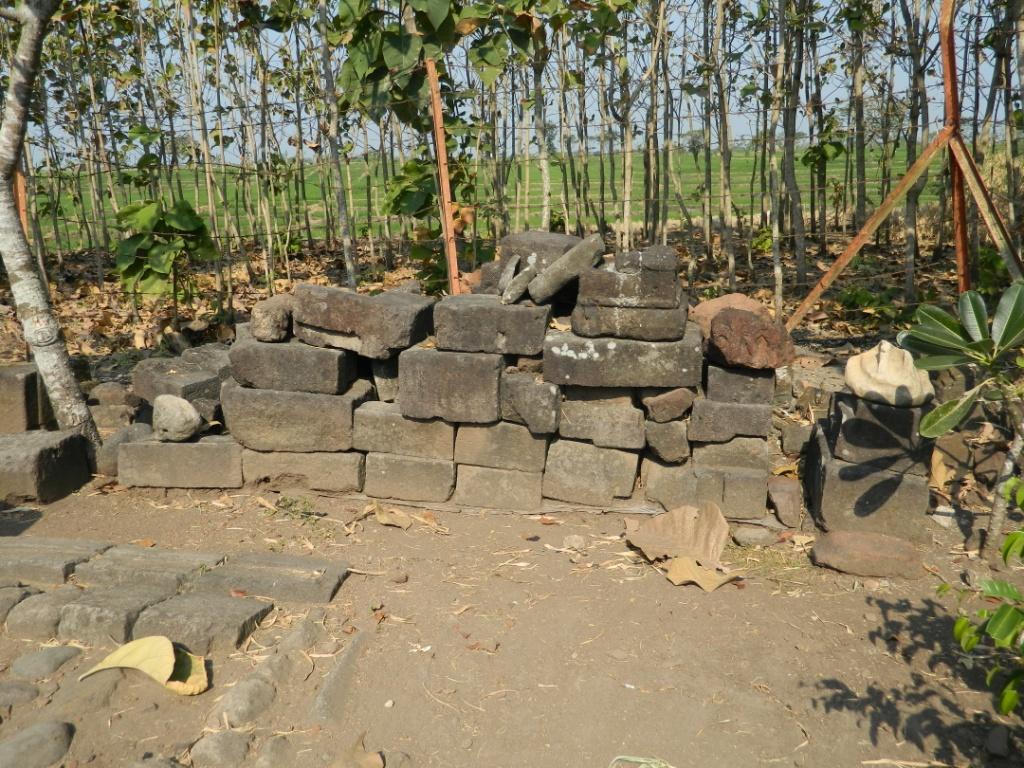 Purbakala Ngawikab Museumjatim Susunan Batu Reco Banteng Kab Ngawi
