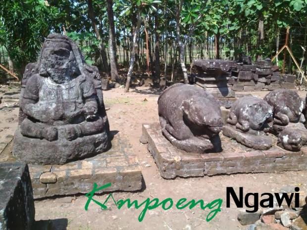 Situs Peninggalan Sejarah Reco Arca Banteng Kampoengngawi Kab Ngawi