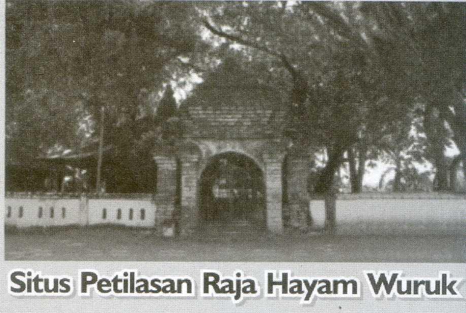 Situs Petilasan Raja Hayam Wuruk Pusaka Jawatimuran Keberadaan Reco Banteng