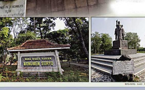 Situs Rapi Kabupaten Ngawi Wana Wisata Monumen Suryo Reco Banteng