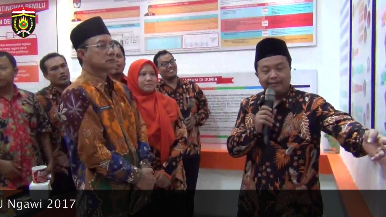 Budi Sulistyono Bupati Ngawi Resmikan Rumah Pintar Kpu Youtube Pemerintah