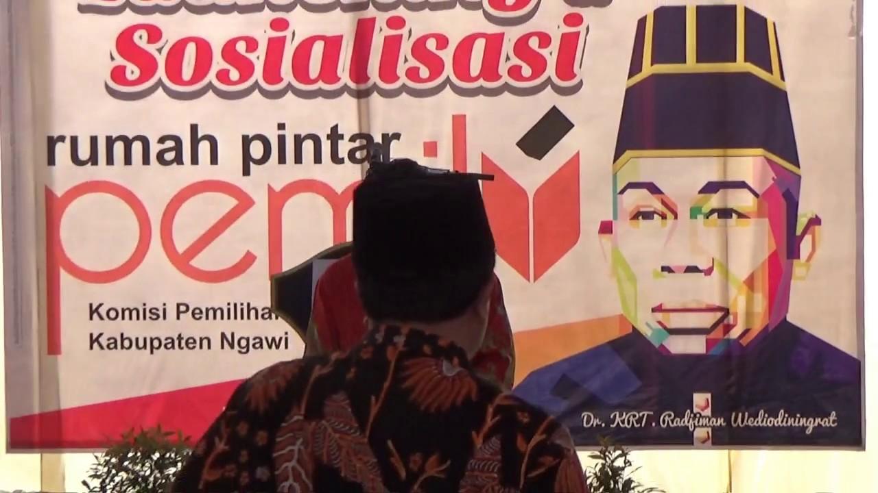 Launching Rpp Dr Radjiman Wedyodiningrat Kpu Ngawi Youtube Rumah Kab