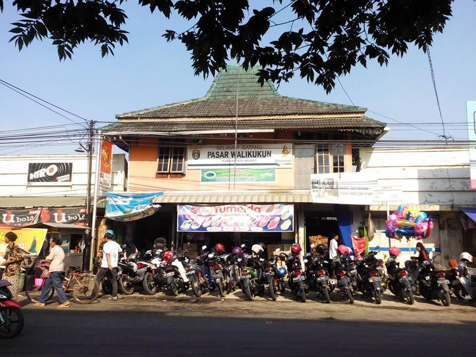 Pasar Walikukun Widodaren Ngawi Radar Djowo Rumah Dr Radjiman Wedyodiningrat