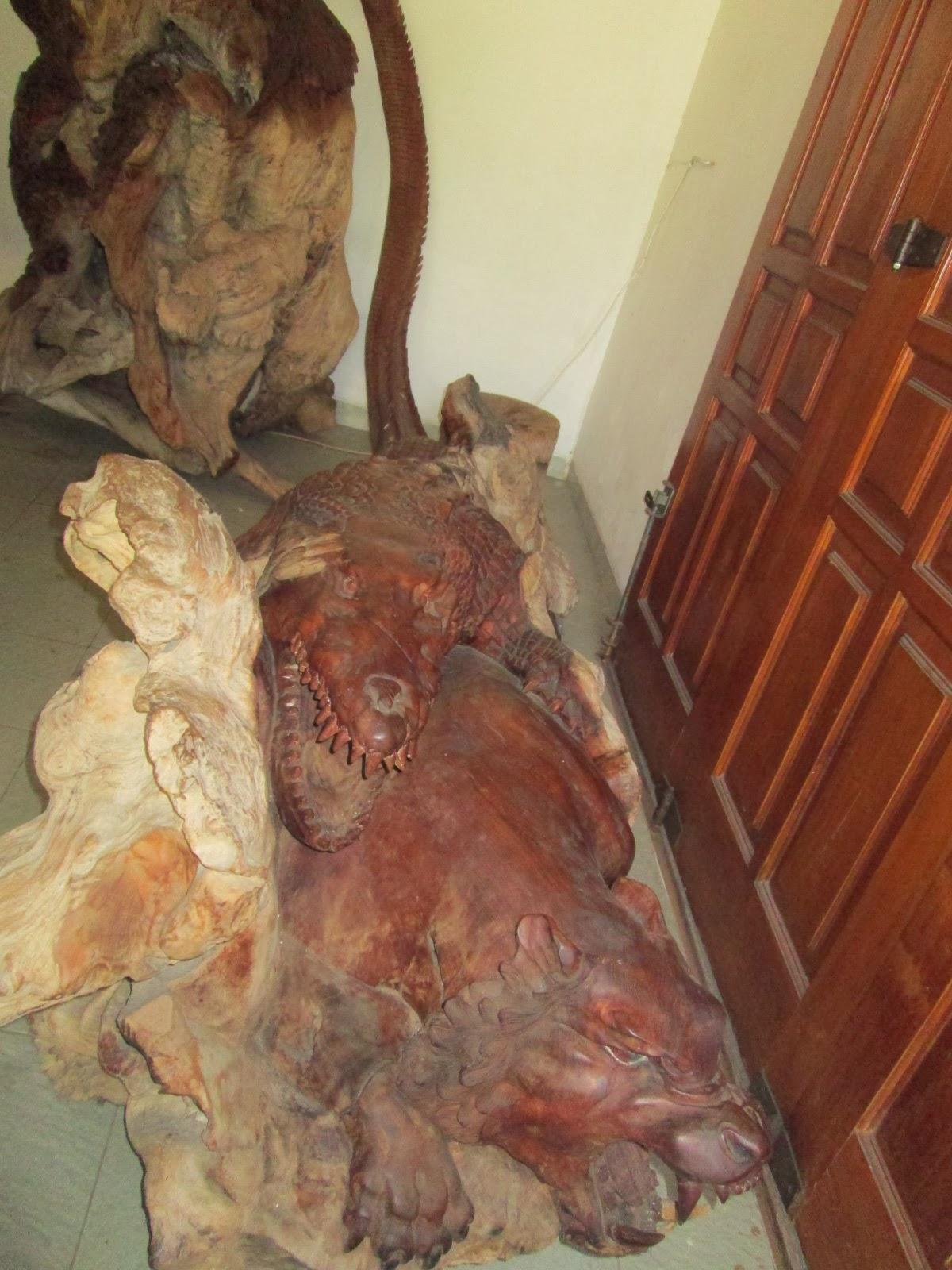 Rumah Baca Dr Radjiman Wedyodiningrat Ukiran Kayu Kab Ngawi