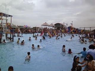 Taman Wisata Water Park Tirto Nirmolo Situs Rapi Kabupaten Ngawi