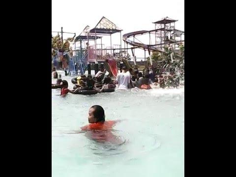 Wahana Wisata Kolam Renang Tirto Nirmolo Ngawi Youtube Taman Air