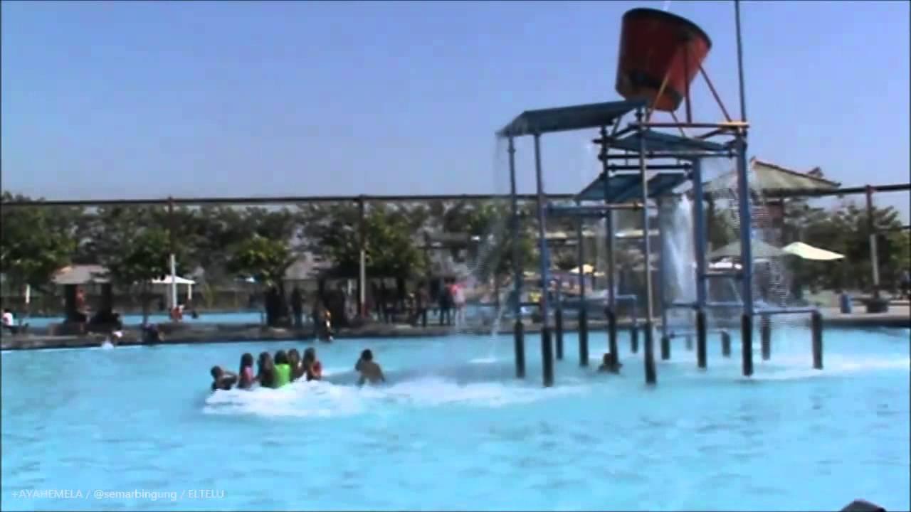 Water Park Galuh Tirtonirmolo Ngawi Youtube Taman Air Kab