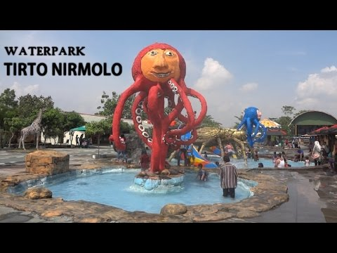 Waterpark Tirto Nirmolo Tempuran Ngawi Jawa Timur Youtube Taman Air
