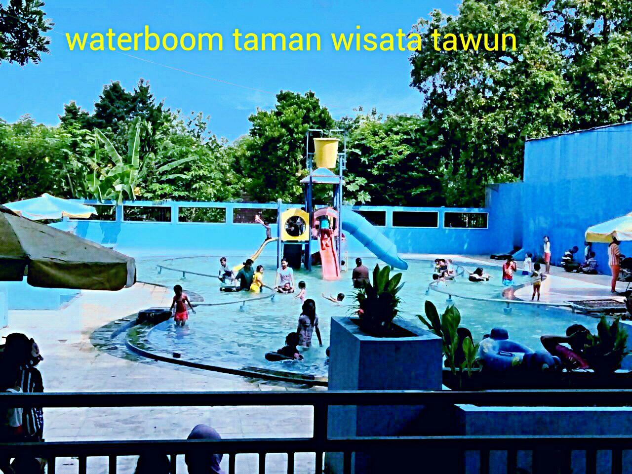August 2016 Tawun Ngawi Waterbom Taman Wisata Kab