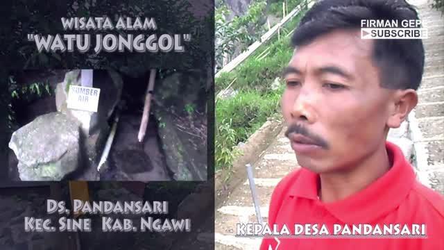 Efgepe 1 Ekspedisi Watu Jonggol Wisata Ngawi Vidio Kab