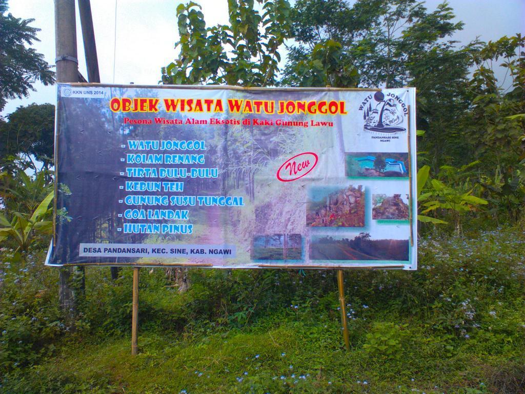 Visit Ngawi Twitter Obyek Wisata Watu Jonggol Lokasinya Desa Pandansari