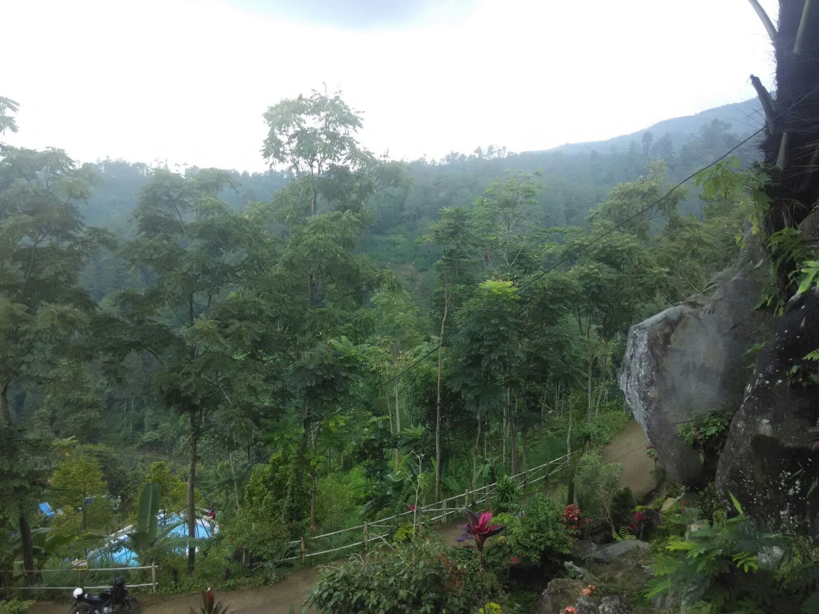 Wiyak Bumi Langit Wisata Alam Watu Jonggol Lokasi Berada Desa
