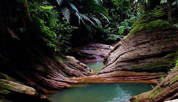 15 Tempat Wisata Populer Tanjung Selor Air Terjun Anak Binusan