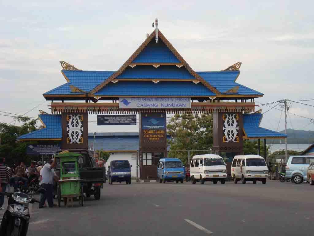 Abang Boyc Zone Nunukan Kalimantan Timur Pulau Sebatik Indonesia Tempat