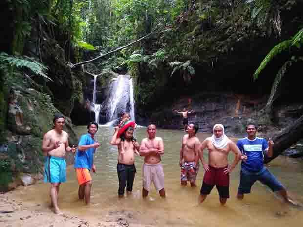 Air Terjun Binusan Ramai Dikunjungi Korankaltara Kab Nunukan