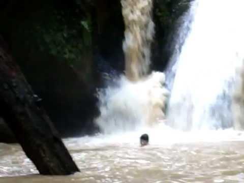 Binusan Nunukan Keindahan Air Terjun Gaya Bebas Youtube Kab