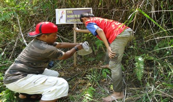 North Borneo Adventure Mei 2016 Mencari Objek Wisata Air Terjun