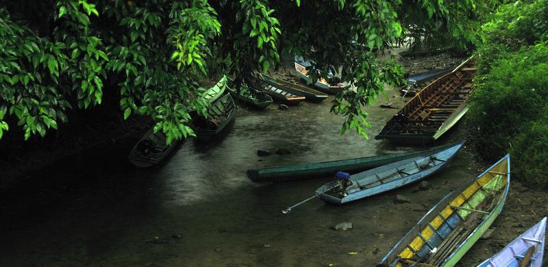 Pariwisata Kaltim Taman Nasional Kayan Mentarang Sungai Pujungan Air Terjun