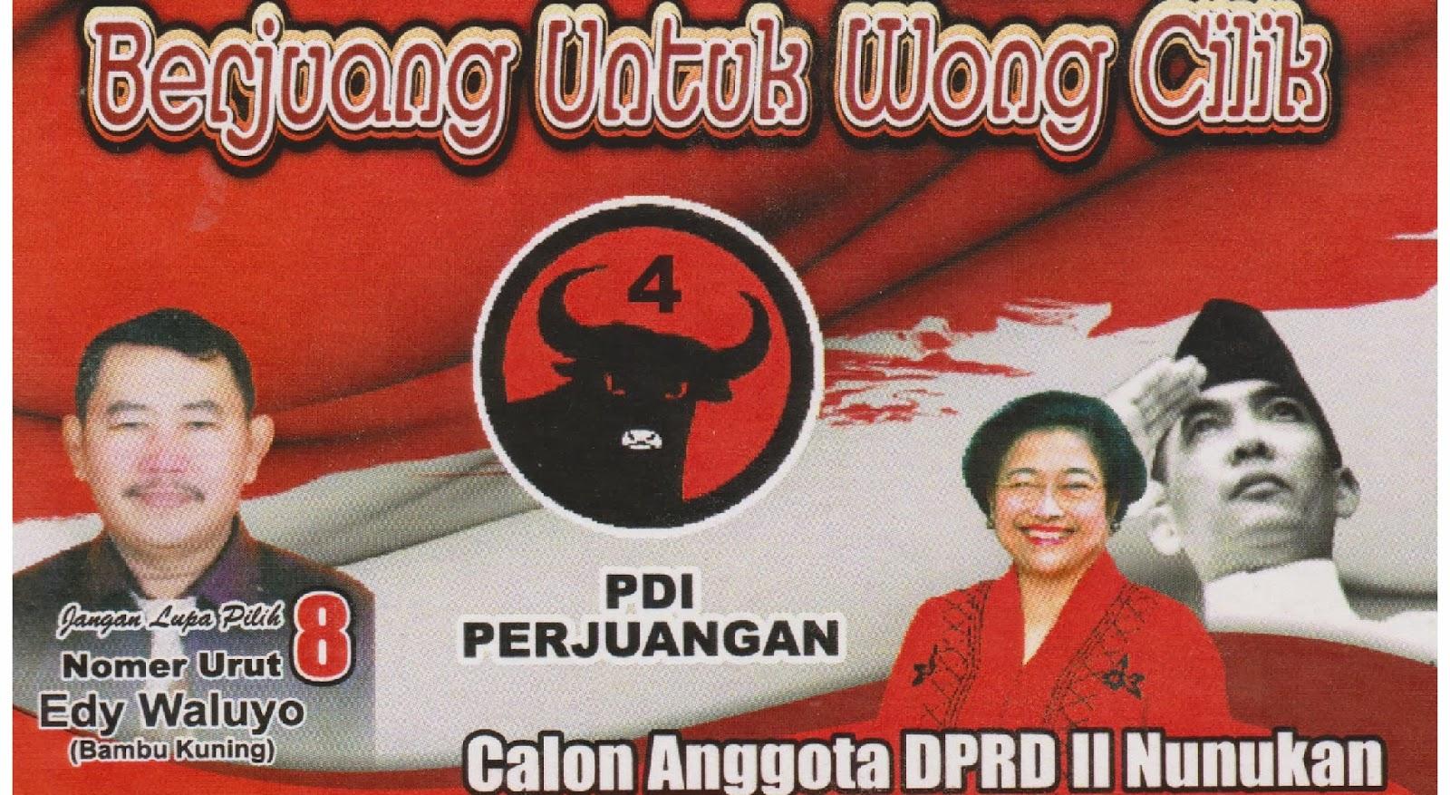 Partai Demokrasi Indonesia Perjuangan Kabupaten Nunukan Air Terjun Binusan Kab