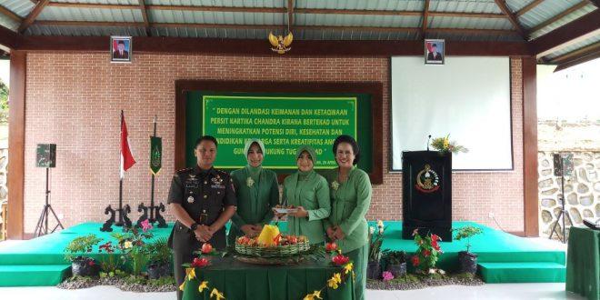 Peringati Hut Persit 72 Kodim 0911 Nnk Bangga Punya Berprestasi