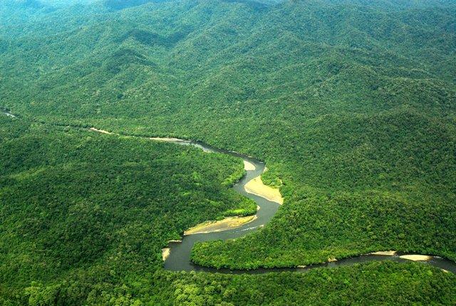 Taman Nasional Kayan Mentarang Tnkm Air Terjun Krayan Kab Nunukan