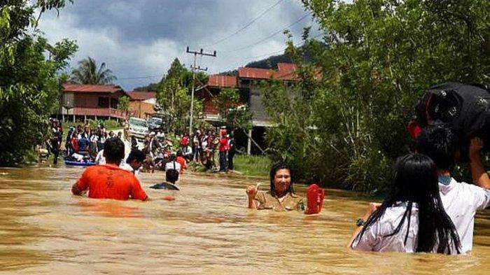 Tolong 30 Desa Kecamatan Krayan Nunukan Terisolasi Akibat Banjir Kondisinya