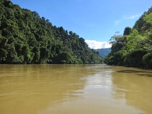 Wisata Kalimantan Utara Colour Indonesia Alam Disini Dinikmati Melayari Sungai