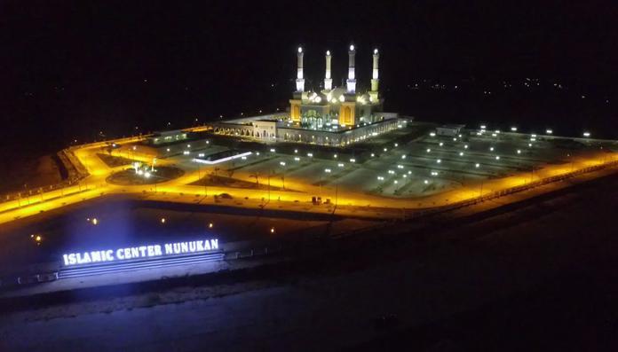 15 Tempat Wisata Populer Tanjung Selor Islamic Center Nunukan Air