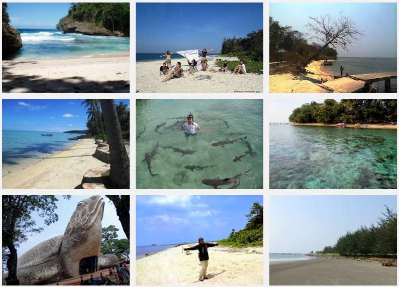 Destinasi Tempat Wisata Pantai Jawa Tengah Info Tiket Pesawat Pulau