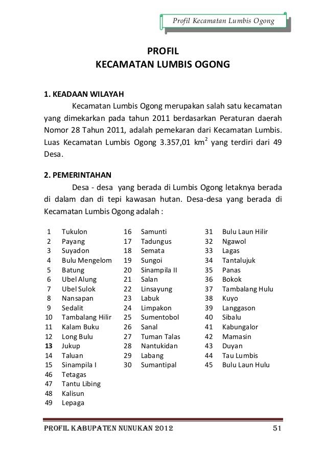 Profil Kabupaten Nunukan 2012 62 Air Terjun Ubol Alung Kab