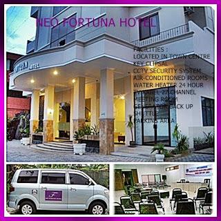 Hotel Neo Fortuna Nunukan Alun Kota Kab
