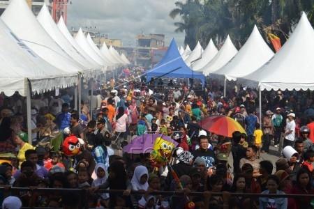 Pesta Rakyat Nunukan 20141221 Ribuan Pengunjung Memadati Lokasi Festival Kuliner