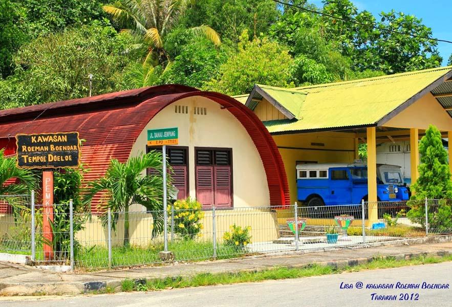 107 Tempat Wisata Kalimantan Utara Menarik Wajib Museum Rumah Bundar