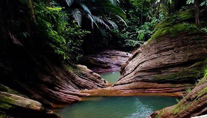 15 Tempat Wisata Populer Tanjung Selor Air Terjun Anak Giram