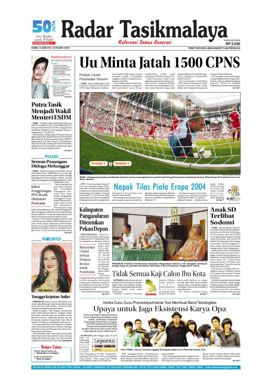 Radar Edisi 12 Mei Tasik Issuu 14 Juni 2012 Giram