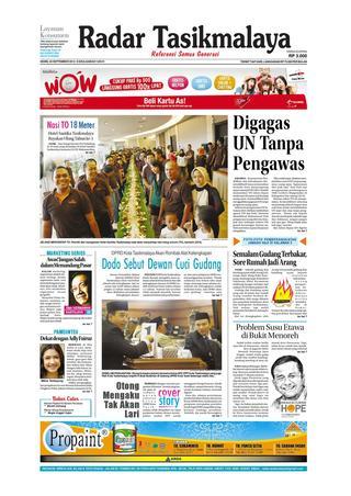 Radar Edisi 12 Mei Tasik Issuu 24 Sept 2012 Giram