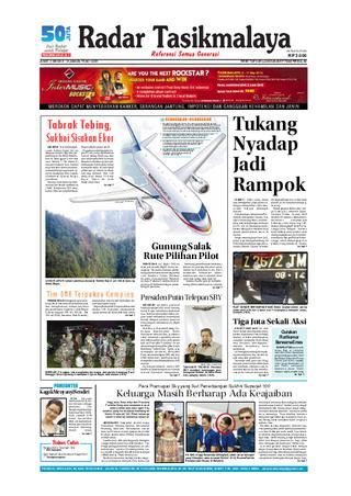 Radar Edisi 12 Mei Tasik Issuu Kamis 10 11 2012