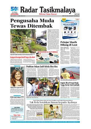 Radar Edisi 12 Mei Tasik Issuu Tasikmalaya 5 2012 Giram
