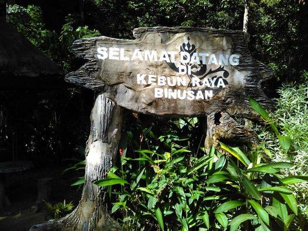 Dukungbersama Twitter Binusan Nunukan Kaltara Hutan Kebun Raya Air Terjun