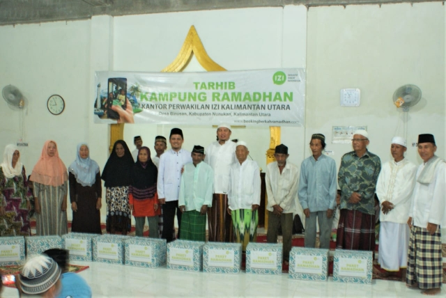 Izi Memudahkan Dimudahkan Berita Kaltara Launching Kampung Ramadhan Desa Binusan
