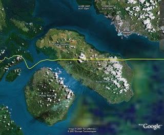 Nunukan Kota Perbatasan Kalimantan Timur Sebatik Pulau Debaya Salah Satu