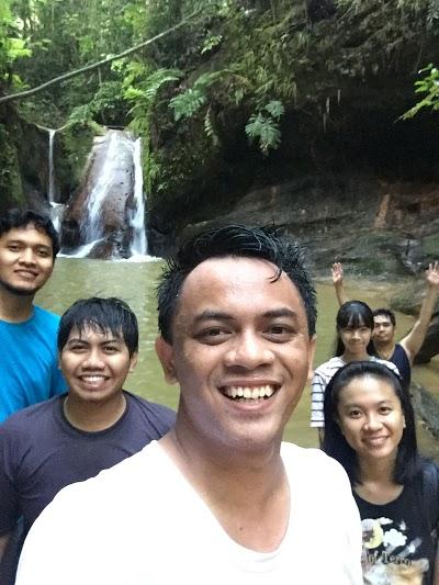 Waterfall Binusan Kalimantan Utara Kebun Raya Kab Nunukan